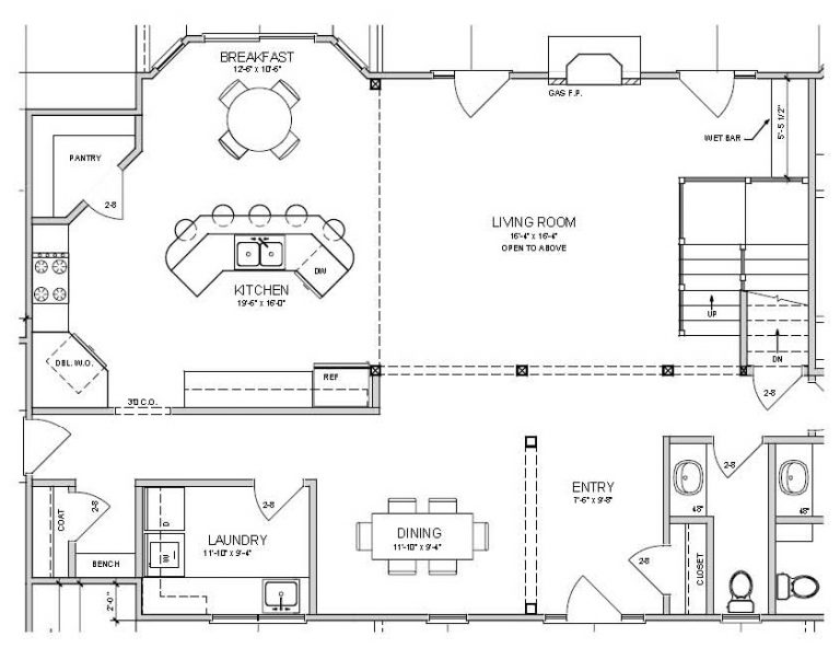 Home design new market knoxville jefferson city tn for Zimmerman house floor plan